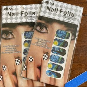 Starry Night Nail Foil Stickers 2 Packs